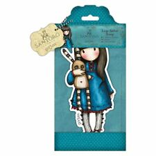 Gorjuss Hush Little Bunny Large Doll Stamp by Santoro London