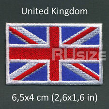 UNITED KINGDOM Country Flag Embroidered PATCH 6,5х4cm Sewn/ironed on Badge UK