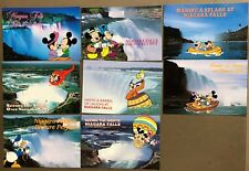 # T1375   WALT DISNEY  CHARACTERS  POSTCARD LOT,   8  DIF. CARDS,   MICKEY MOUSE
