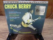 CHUCK BERRY MFSL 24 KARAT GOLD AUDIOPHILE CD ST. LOUIS TO LIVERPOOL 2 LP'S IN 1