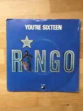 "Ringo Starr(7"" Vinyl)You're Sixteen-Parlophone-R 5995-UK-1973-Ex/NM"