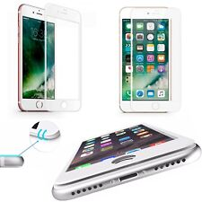 3D CURVED Tempered Glass iPhone 6/6s Full SreenProtector White/Weiss Cover #32