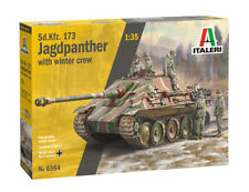 ITALERI Sd.Kfz.173 Jagdpanther with Winter Crew Nr.: 6564 1:35