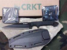 "CRKT Dragon Fighting Knife Wharncliff 9"" G10 Full Tang Black Crawford 2010K"