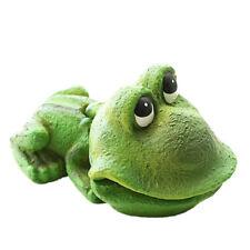 FH- Cute Frog Air Stone Bubbler Aerating Aquarium Ornament Resin Decor for Fish