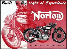 NORTON MANX 30 40 REPAIR OPERATION MANUALS & International Motorcycle Brochures