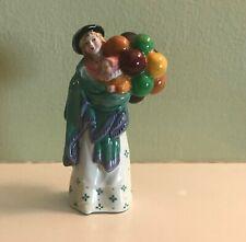 "Royal Doulton Porcelain Figurine The Balloon Seller Hn 2130 4"" Mint Condition"
