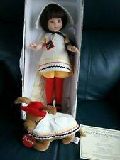 """Signed 14"""" Betsy McCall by Tonner, School Girl, Le 300 for Love of Dolls"""