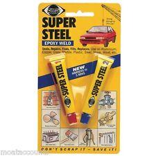 * Confezione da 2 * plastica Imbottitura Super acciaio resina epossidica saldatura [118] Due Colla parte