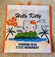 Hello Kitty Sanrio Hawaii Hibiscus Diamond Head Recycle Reusable Tote Bag -NWT