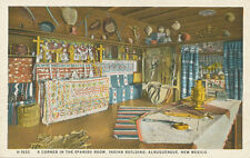 Albuquerque NM * Spanish Room in Indian Building 1930s  Fred Harvey H-1932