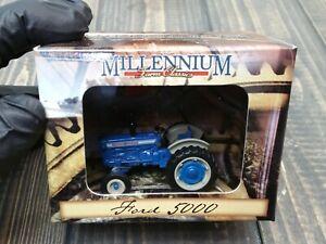 1970-1980 FORD 5000 Tractor 1/64 - 1999 Millennium Farm Classics Die Cast