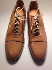 Vintage TAN Leather Pointy Toe PLAYBOY Fashion Dress Shoe 70s 80s size 7