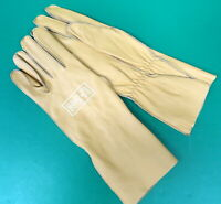 US NAVY Bu AERO TYPE B-3A LEATHER FLYING GLOVES- SIZE LARGE
