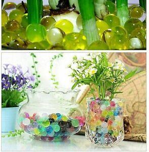 5000pcs Crystal Water Beads Vase Filler balls multicolor plant decoration