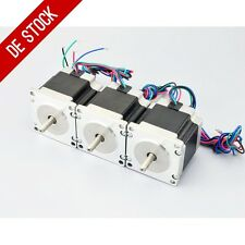DE Ship 3pcs Nema 23 CNC Stepper Motor 1.26Nm(179oz.in) DIY CNC Router Robot