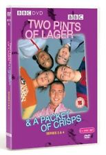 TWO 2 PINTS OF LAGER - Series 3 - 4 And A Packet Of Crisps 2004 New UK R2 DVD