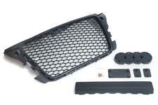 09-13 Audi A3 8P Euro RS3 Style Front Sport Hex Mesh Honeycomb Grill Gloss Black