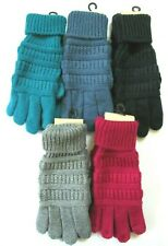 CC Kids Smart Tips Touchscreen Compatible Gloves 5 Colors To Choose From OS NWT