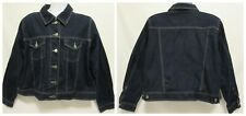 Women's Plus Size 18/20 Venezia Jeans Clothing Co Jacket Blue Jean Denim Dark