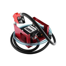 155w Electric Fuel Transfer Pump Big Flow Rate With Automatic Nozzle Fuel Meter