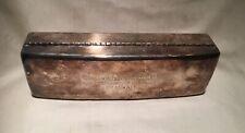 Vtg Rare 1963 silver Neskowin 1st Lowest golf club trophy box Tee/ Ball cigar