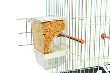 Lot of 6  Bird Cage Automatic Feeder Smart food container Tidy?No Mess