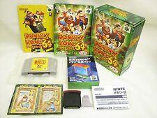 DONKEY KONG 64 with Expansion Pak + Card Item REF/1801 Nintendo 64 JAPAN Game n6