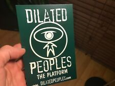 Dilated Peoples PROMO Postcard Indie Hip Hop Rap Evidence Atmosphere Not Sticker