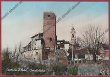 ALESSANDRIA CAPRIATA D'ORBA 04 CASTELVECCHIO Cartolina viaggiata 1963 REAL PHOTO