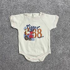 Disney Baby Tigger Baby Grow Unisex Age 3-6 Months