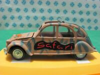 Rare Vintage -  CITROEN 2CV Safari  -  1/43 Pilen M-279 - Mint in box