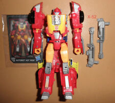 TRANSFORMERS leader HOT ROD rodimus TOY figure RED CAR headmasters TITANS RETURN