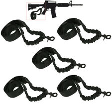 5PC Tactical Rifle Single One Point For Model 15 Adjustable Bungee Sling Strap 8
