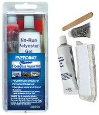 Evercoat Fiberglass Repair Kit, Metal, Wood, 2 fl. oz. - 108050