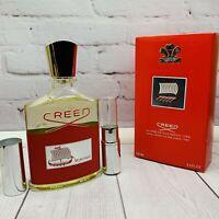 Creed Viking For Men 10 ml Sample Eau De Parfum Decant Cologne Authentic SELL