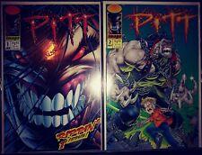 PITT  # 1 - 2  ( Jan 1993 , July 1993 Image comics ) Dale Keown