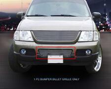 Fits 2002-2005 Ford Explorer Polished Billet Grille Front Lower Bumper Grill
