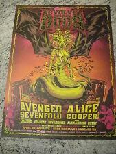 REVOLVER Golden Gods 2011 Print Poster A7X Alice Cooper & MORE MEDUSA 18x24