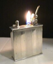 BRIQUET Ancien * LANCEL Automatique * Vintage Desk LIGHTER Feuerzeug Accendino