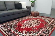 RED FLOOR RUG TRADITIONAL PERSIAN STYLE CARPET - 160 x 215 CM