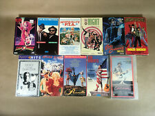 Music Movies, Musicals, Comedies VHS Bulk Lot 11 tapes