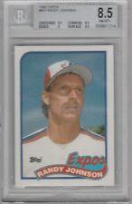 1989 Topps Randy Johnson Montreal Expos #647 Baseball Card