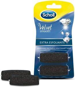 Scholl Velvet Soft Ricarica Roll per Pedicure, Extra Esfoliante, 2 2 Unità
