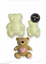 Easy Pops Teddy Bear Cutters Moulds Cake decorating FAST NEXT DAY DESPATCH