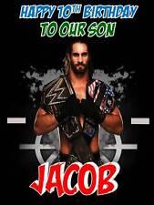 Personalised WWE Seth Rollins Birthday Greeting Card & Envelope 469