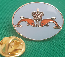 Oval Sub Mariner Lapel Pin badge in Pouch Gift Idea