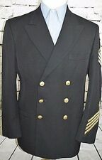 Patriot by Weintraub Brothers Co. Vintage Men's Navy Military Blazer Size 42