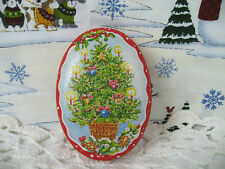 Lillian Vernon Corp. Candle in Christmas Tree Tin Can New Vintage 1987 Unused