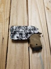 Sig Sauer P238 Concealment IWB Graveyard Skull Camo KYDEX Holster Righthand